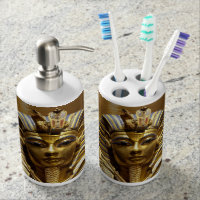 Egypt King Tut Bath Set