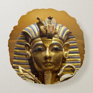 Egypt King Tut Round Throw Pillow Round Pillow