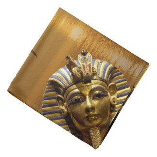 Egypt King Tut Spun Polyester Bandana