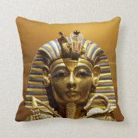 Egypt King Tut Throw Pillow