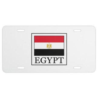 Egypt License Plate