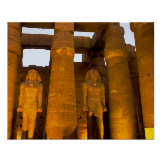 Egypt, Luxor.  Karnack Temple. Posters