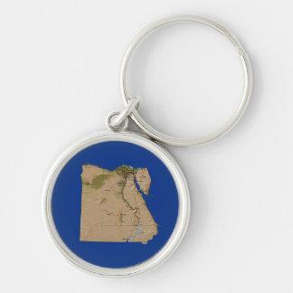 Egypt Map Keychain