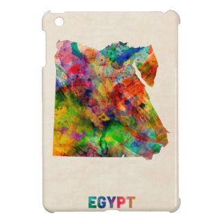 Egypt Map Watercolor Case For The iPad Mini