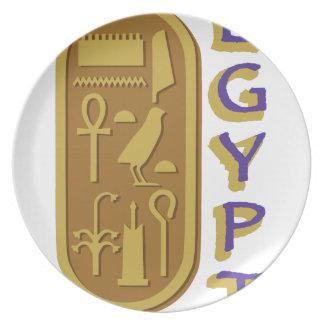 Egypt Melamine Plate