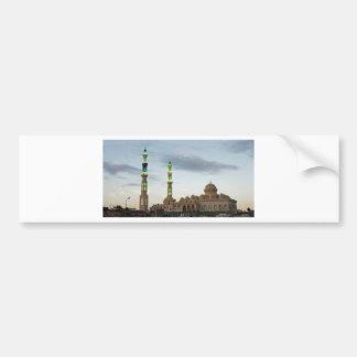 egypt mosque bumper sticker