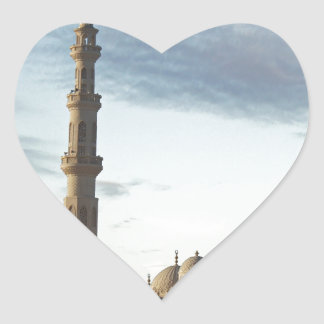 egypt mosque heart sticker