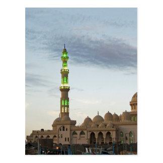 egypt mosque postcard