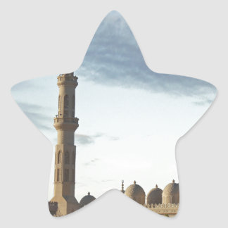 egypt mosque star sticker