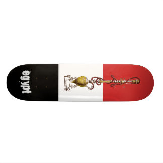 Egypt national flag hookah skateboard