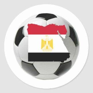 Egypt national team classic round sticker