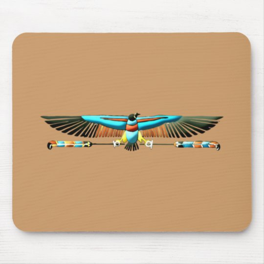 Egypt Nechbet protection symbol egypt protection Mouse Pad
