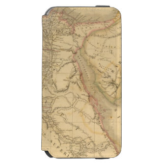 Egypt, Palestine and Arabia Map iPhone 6/6s Wallet Case