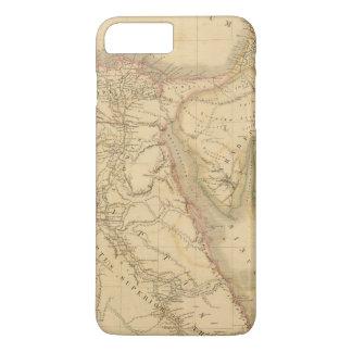 Egypt, Palestine and Arabia Map iPhone 8 Plus/7 Plus Case