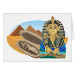 Egypt Pharaoh Greeting Card