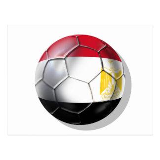 Egypt Pharoahs Soccer fans gear Postcard