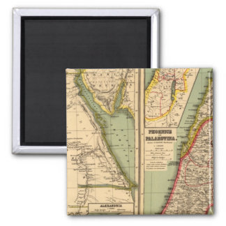 Egypt, Phoenicia and Palestine Magnets