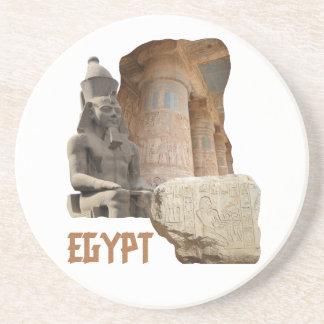 EGYPT photo collage coaster