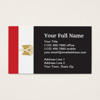 egypt flag business cards templates zazzle