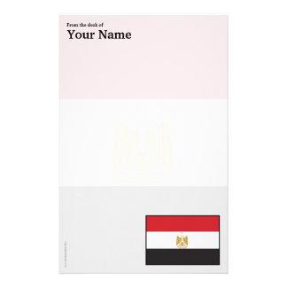 Egypt Plain Flag Stationery