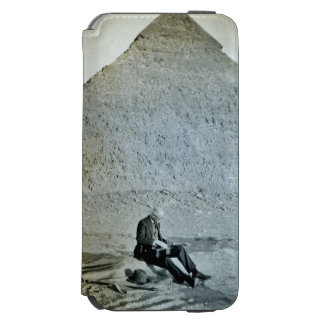 Egypt Pyramid Musician Solo Guitar iPhone 6/6s Wallet Case