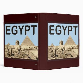 Egypt Pyramid of Khafre Binder