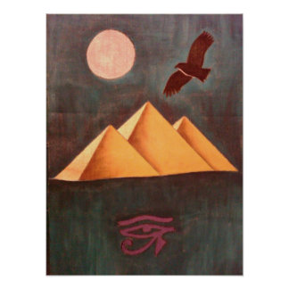 Egypt Pyramid Poster