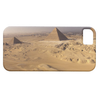 Egypt, Pyramids at Giza, Khafre, Khufu, Menkaure iPhone SE/5/5s Case