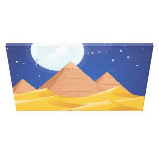 Egypt Pyramids Canvas Print