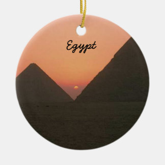 Egypt Pyramids Ornament