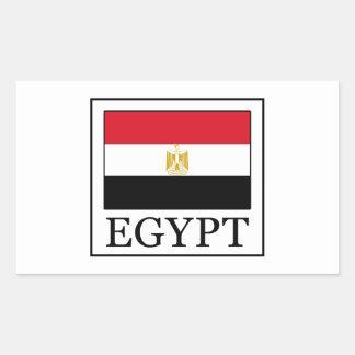 Egypt Rectangular Sticker