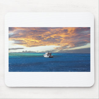 egypt red sea sunset mouse pad
