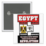 Egypt Revolution Button