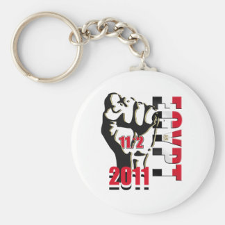 Egypt Revolution Liberation 11th of February 2011 Keychain