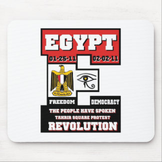 Egypt Revolution Mouse Pad