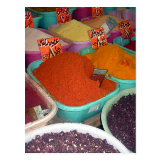 egypt spices postcard