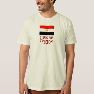 EGYPT :: Stands For Freedom (Organic) T-Shirt