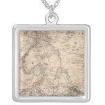 Egypt, Sudan, Africa Square Pendant Necklace