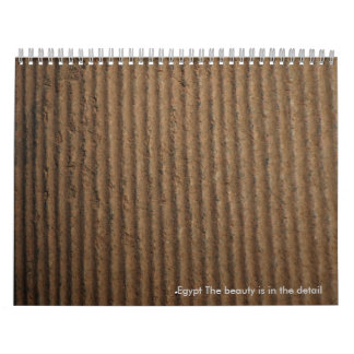 Egypt The beauty is in the detail - Customized Calendar