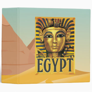 Egypt -Tutankhamun 3 Ring Binder