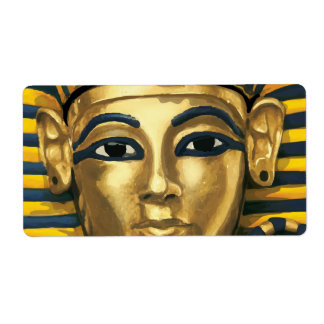 Egypt -Tutankhamun Label