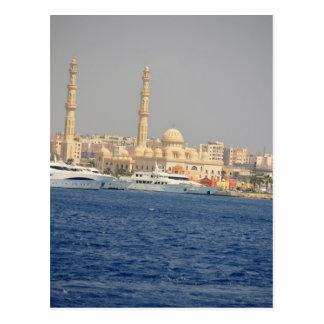Egypt view postcard