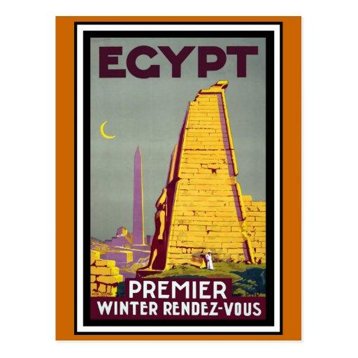 """Egypt"" Vintage Travel Postcards"
