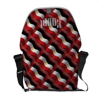 Egypt Waving Flag Messenger Bag