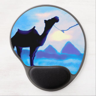 EGYPTAIN BLUE - CAMEL GEL MOUSE MATS
