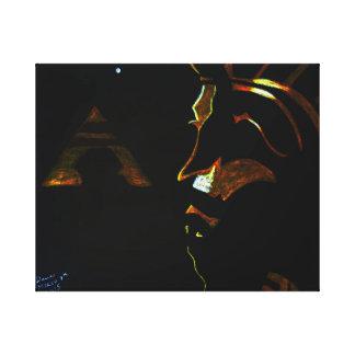 EGYPTAIN ICONS CANVAS PRINT