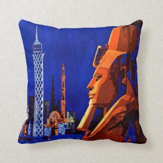 Egypte ~ Pharaoh Ramses Throw Pillow