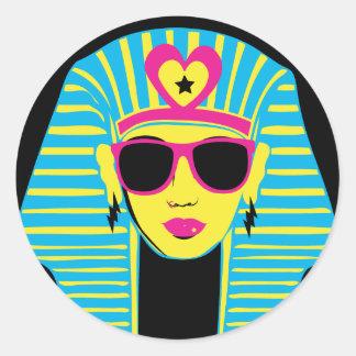 Egyptian 80's Chick Sticker