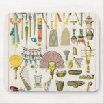 Egyptian Accessories, from 'Trachten der Voelker' Mouse Pad