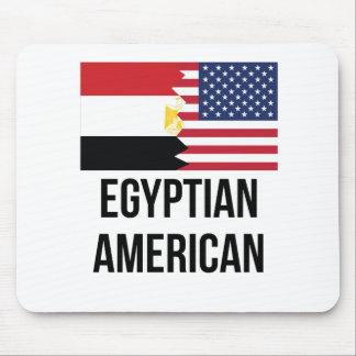 Egyptian American Flag Mouse Pad